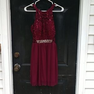 Homecoming dress short size 3